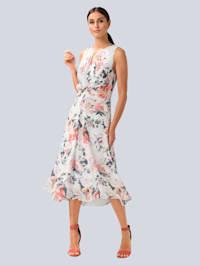 Kleid mit femininem Cut-Out am Ausschnitt