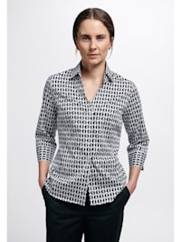 Dreiviertelarm Bluse MODERN CLASSIC bedruckt