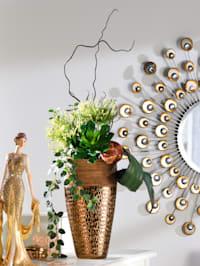 Arrangement 'Succulente/Chrysanthemen'