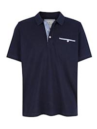 Polo avec poche poitrine pratique