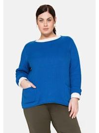 Pullover aus trageangenehmer Baumwolle