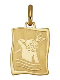 Stjernetegn-anheng i gull 585