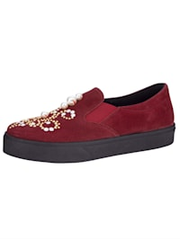 Moccasins made of fine suede leather