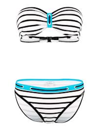 Bikini met sportieve accenten