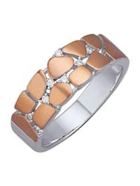 Damesring in echt zilver
