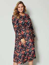 Maxi šaty s květinovým potiskem