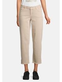 Basic-Jeans unifarben