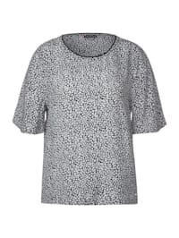 Shirtbluse mit Muster