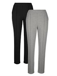 Pantalon de loisirs avec biais chic devant