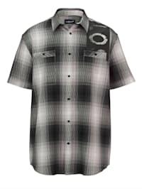 Chemise à manches courtes avec 2 poches poitrine