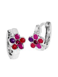 Creole - Blume - Silber 925/000 - ,
