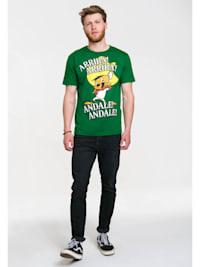 T-Shirt mit Speedy Gonzales - Print