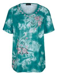 Shirt rundum bedruckt