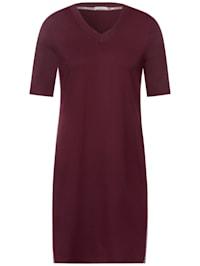 Kleid mit College Streifen