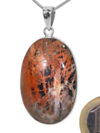 Pilbara Jaspis Anhänger 925 Silber
