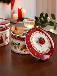 Vianočná dóza na pečivo