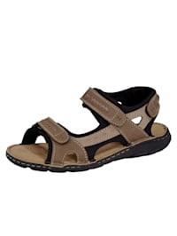 Sandály s praktickým zapínáním na suchý zip