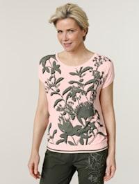 Tričko s efektnou potlačou