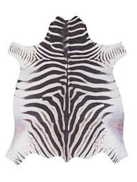 Kunstfaser Teppich Zebra