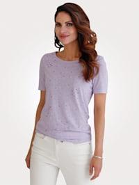 T-shirt avec strass