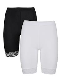 Dlhé nohavičky, 2ks z kvalitnej certifikovanej bavlny