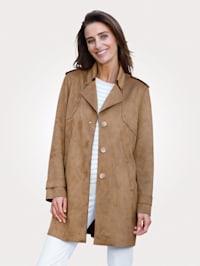 Suede-Jacke aus Suede-Qualität