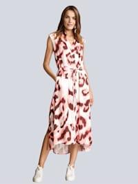 Kleid im Leoprint