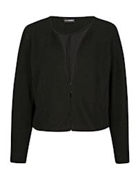 Sweat bunda v krátkém střihu
