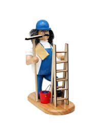 Holz Räuchermann Fensterputzer