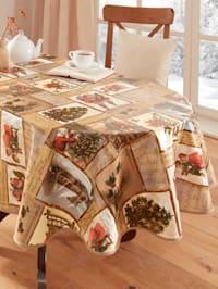 Wachstuch-Tischwäsche 'Madita'
