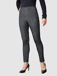 Kalhoty s glenček vzorem