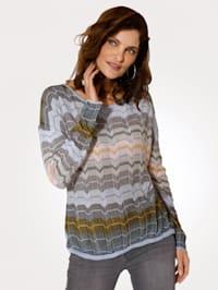 Pullover mit feinem Strukturstrick