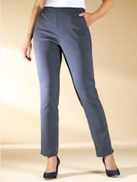 Jersey broek met stippendessin