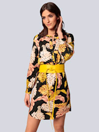 Kleid mit dekorativem Druck