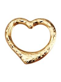 Hanger Hart in goudkleur