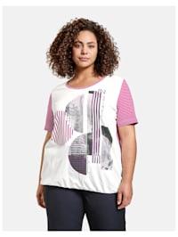 Legeres T-Shirt mit Gummibund