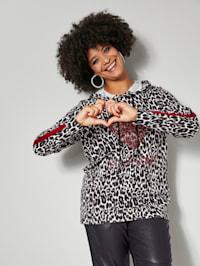 Sweatshirt mit Pailletten-Motiv