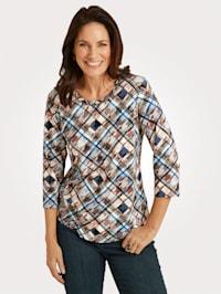 Shirt mit Allover-Druck
