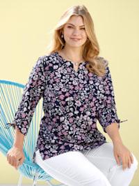 Bluse floral oder uni