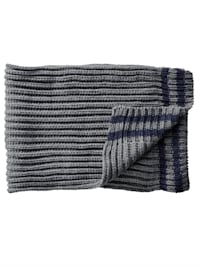 Sjaal met geribde structuur