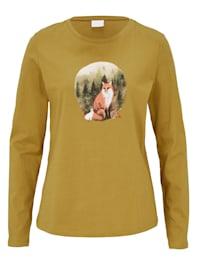 Shirt mit Fuchsprint