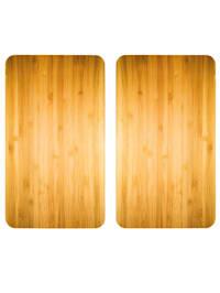 2 komfyrdekkplater -Tremønster-