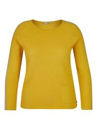 Pullover mit Raglanärmeln und Kontrastdetails