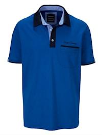 Tričko s košilovým límcem
