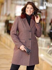 Manteau avec détails mode élégants