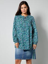Tunika-Bluse in leicht ausgestellter Form
