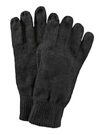 Pletené rukavice v hrejivej a mäkkej kvalite