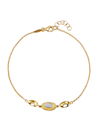 Armband van 14 kt. goud