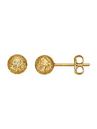 Boucles d'oreilles en or jaune 750