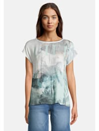 Printshirt kurzarm